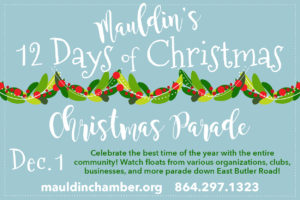 Christmas Parade - Cancelled @ Mauldin Cultural Center | Mauldin | South Carolina | United States