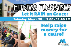 Fitness Fundraiser: Let It Rain on Cancer @ Mauldin Sports Center | Mauldin | South Carolina | United States