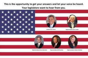 Legislative Town Hall Meeting @ City Hall | Mauldin | South Carolina | United States