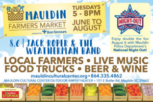 National Night Out & Mauldin Farmers Market @ Mauldin Cultural Center Outdoor Amphitheater | Mauldin | South Carolina | United States