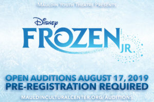 Auditions | Disney's Frozen, JR @ Mauldin Cultural Center | Mauldin | South Carolina | United States
