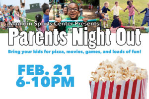 Parents Night Out @ Mauldin Sports Center | Mauldin | South Carolina | United States
