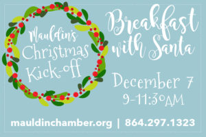 Breakfast with Santa @ Ray Hopkins Senior Center | Greenville | South Carolina | United States
