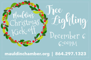 Annual Tree Lighting @ Mauldin Cultural Center | Mauldin | South Carolina | United States