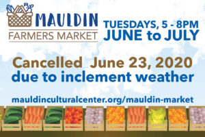 Mauldin Farmers Market (CANCELLED) @ Mauldin Outdoor Amphitheater | Mauldin | South Carolina | United States