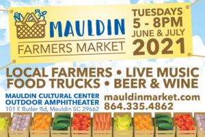 Mauldin Farmers Market @ Mauldin Cultural Center Outdoor Amphitheater | Mauldin | South Carolina | United States