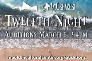 Auditions | Twelfth Night @ Mauldin Cultural Center Outdoor Amphitheater | Mauldin | South Carolina | United States