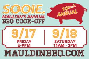 Sooie. Mauldin's Annual BBQ Cook-Off @ Mauldin Cultural Center | Mauldin | South Carolina | United States