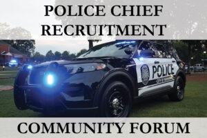 Community Forum: Police Chief Forum @ Mauldin City Hall | Mauldin | South Carolina | United States