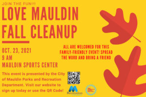 Mauldin Cleanup Day